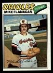 1977 Topps #106  Mike Flanagan  Front Thumbnail