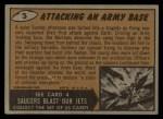 1962 Mars Attacks #3   Attacking an Army Base Back Thumbnail