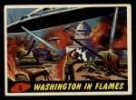 1962 Mars Attacks #5   Washington in Flames  Front Thumbnail
