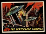 1962 Mars Attacks #10   The Skyscraper Tumbles Front Thumbnail