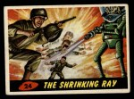 1962 Bubbles Inc Mars Attacks #24   The Shrinking Ray  Front Thumbnail