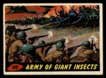 1962 Bubbles Inc Mars Attacks #39   Army of Giant Insects  Front Thumbnail