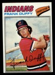 1977 Topps #542  Frank Duffy  Front Thumbnail