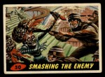 1962 Topps / Bubbles Inc Mars Attacks #50   Smashing the Enemy  Front Thumbnail