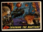 1962 Topps / Bubbles Inc Mars Attacks #51   Crushing the Martians  Front Thumbnail