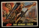 1962 Bubbles Inc Mars Attacks #9   The Human Torch Front Thumbnail