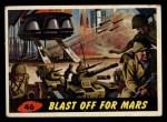 1962 Bubbles Inc Mars Attacks #46   Blast Off for Mars  Front Thumbnail
