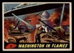 1962 Bubbles Inc Mars Attacks #5   Washington in Flames  Front Thumbnail