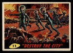 1962 Mars Attacks #11   Destroy the City Front Thumbnail