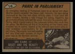 1962 Topps / Bubbles Inc Mars Attacks #16   Panic in Parliament  Back Thumbnail