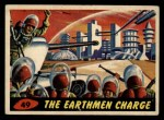 1962 Mars Attacks #49   The Earthmen Charge  Front Thumbnail