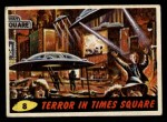 1962 Mars Attacks #8   Terror in Times Square  Front Thumbnail