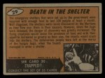 1962 Bubbles Inc Mars Attacks #29   Death in the Shelter Back Thumbnail