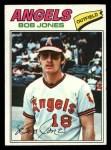 1977 Topps #16  Bob Jones  Front Thumbnail