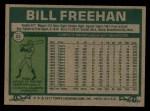1977 Topps #22  Bill Freehan  Back Thumbnail