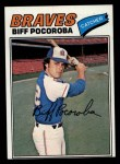 1977 Topps #594  Biff Pocoroba  Front Thumbnail