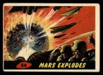 1962 Topps / Bubbles Inc Mars Attacks #54   Mars Explodes  Front Thumbnail