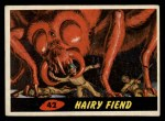1962 Topps / Bubbles Inc Mars Attacks #42   Hairy Fiend  Front Thumbnail