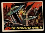 1962 Bubbles Inc Mars Attacks #10   The Skyscraper Tumbles Front Thumbnail