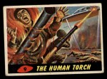 1962 Mars Attacks #9   The Human Torch Front Thumbnail