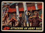 1962 Mars Attacks #3   Attacking an Army Base Front Thumbnail
