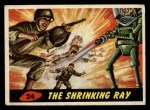 1962 Topps / Bubbles Inc Mars Attacks #24   The Shrinking Ray  Front Thumbnail