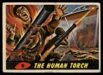 1962 Topps / Bubbles Inc Mars Attacks #9   The Human Torch Front Thumbnail