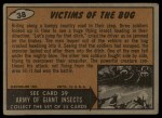 1962 Mars Attacks #38   Victims of the Bug  Back Thumbnail