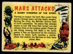 1962 Bubbles Inc Mars Attacks #55   Checklist  Front Thumbnail