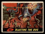 1962 Topps / Bubbles Inc Mars Attacks #43   Blasting the Bug  Front Thumbnail