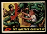 1962 Mars Attacks #31   The Monster Reaches In  Front Thumbnail