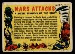 1962 Mars Attacks #55   Checklist  Front Thumbnail