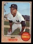 1968 Topps #546  Roy White  Front Thumbnail