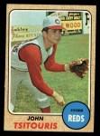 1968 Topps #523  John Tsitouris  Front Thumbnail