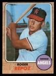1968 Topps #587  Roger Repoz  Front Thumbnail