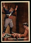 1958 Topps Zorro #81   Careful Sergeant Front Thumbnail