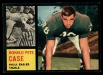 1962 Topps #125  Pete Case  Front Thumbnail