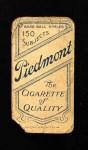 1909 T206  Bob Ewing  Back Thumbnail