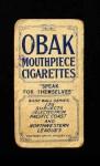 1910 T212 Obak xOLD Jesse Orendorff  Back Thumbnail