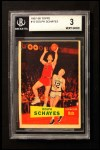 1957 Topps #13  Dolph Schayes  Front Thumbnail