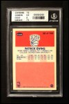 1986 Fleer #32  Patrick Ewing  Back Thumbnail