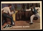 1958 Topps Zorro #3   Flashing Blades Front Thumbnail