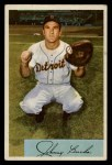1954 Bowman #215  Johnny Bucha  Front Thumbnail