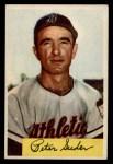 1954 Bowman #99 2B Pete Suder  Front Thumbnail