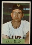 1954 Bowman #41 ALL Al Dark  Front Thumbnail