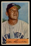 1954 Bowman #113  Allie Reynolds  Front Thumbnail