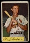 1954 Bowman #110  Red Schoendienst  Front Thumbnail
