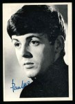 1964 Topps Beatles Black and White #4  Paul McCartney  Front Thumbnail