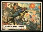 1962 Topps Civil War News #57   Hand to Hand Combat Front Thumbnail