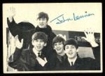 1964 Topps Beatles Black and White #139  John Lennon  Front Thumbnail